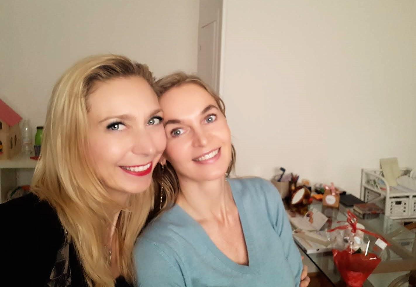 Carlottissima e Aga Nowak